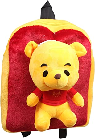 Tickles Happy Pooh Shoulder School Bag 3 litres