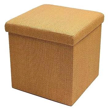 Amazon.com: LJFYXZ Taburete de almacenamiento, multifunción ...