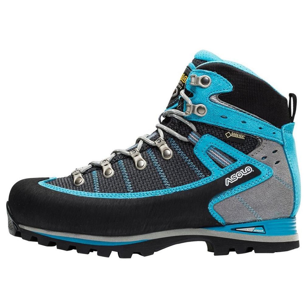 Asolo Shiraz GV Boot - Women's B00LADGB1S 6.5 B(M) US|Black/Blue Peacock