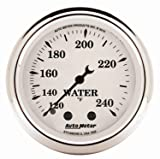 Auto Meter 1632 Old Tyme White Mechanical Water