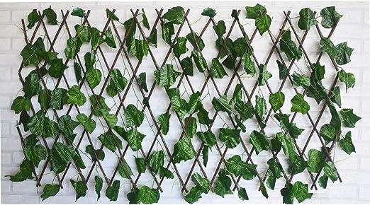 Hogar y Mas Jardin Vertical, celosia Extensible Hiedra Artificial ...