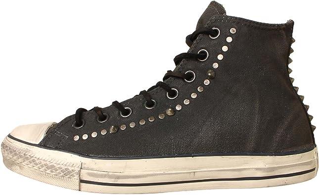 Barcelona omitir prometedor  Amazon.com: Converse Unisex Chuck Taylor All Star en relieve con tachuelas,  negro, 13 D(M) US: Shoes