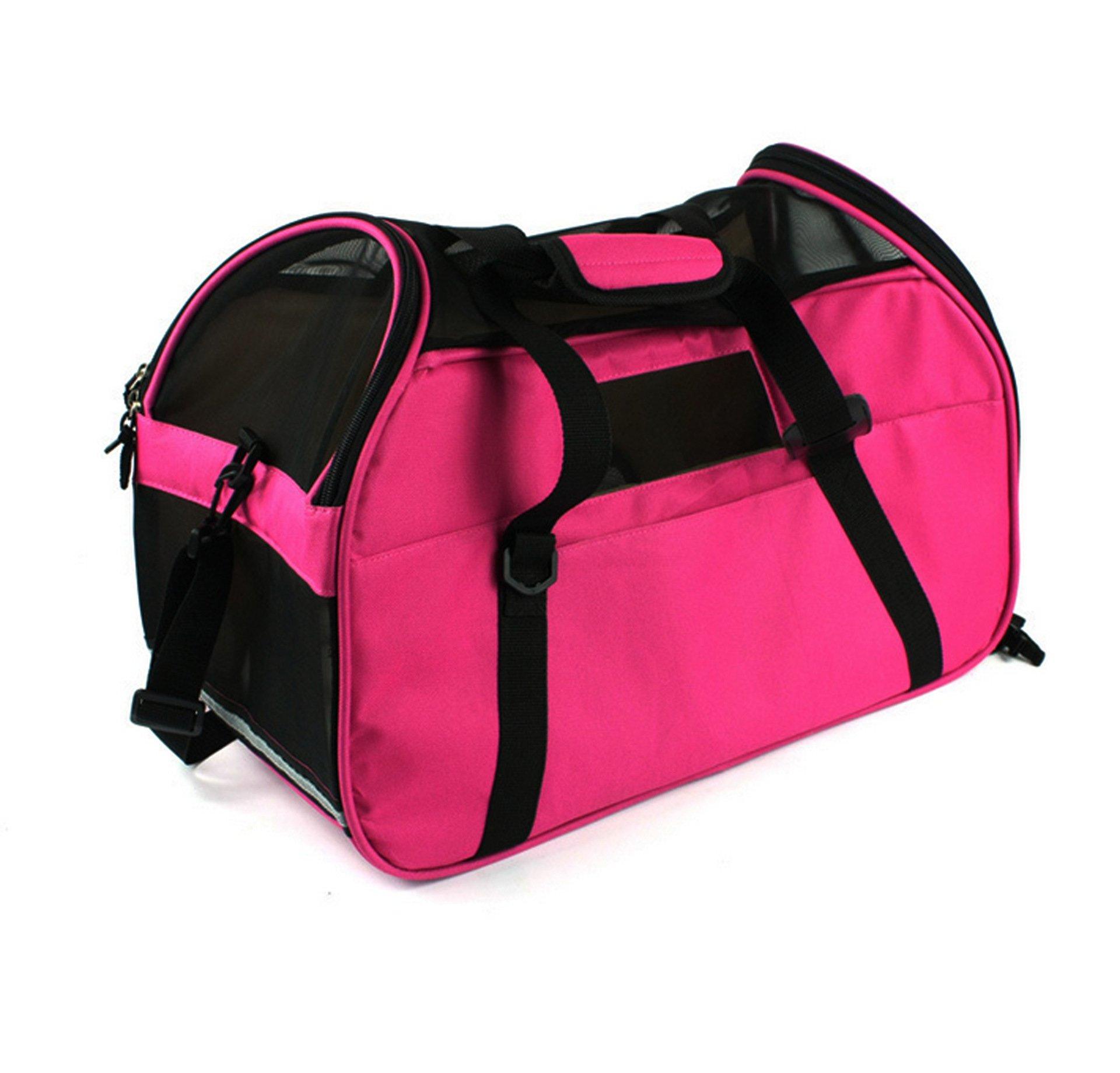 BetteresLife Portable Shoulder Waterproof Breathable Pet Carrier for Dog or Cat