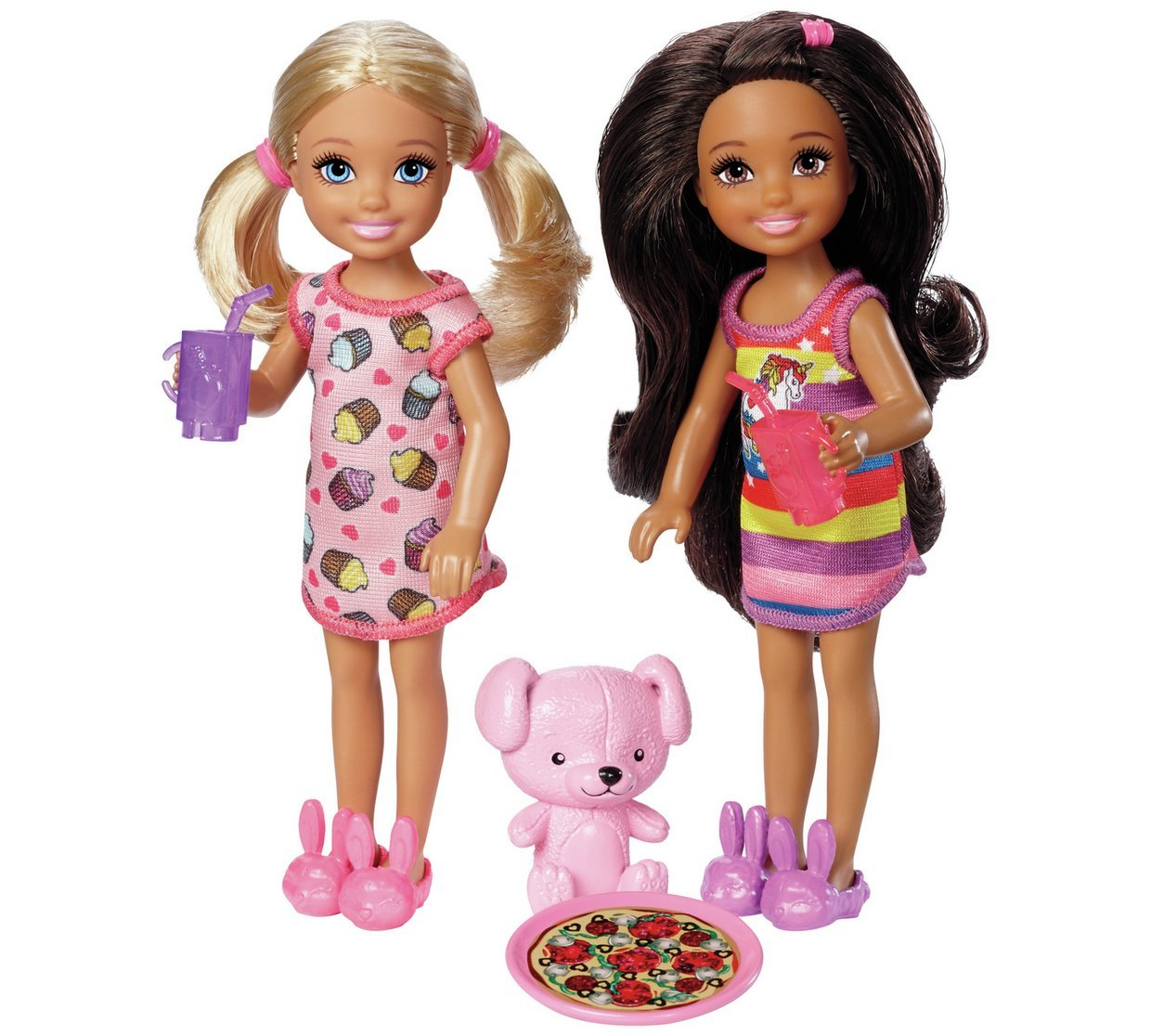 Barbie Club Chelsea 2 Pack Dolls & Accessories Assortment (Randomly 2 Dolls Supplied) (Color & Style May Vary)