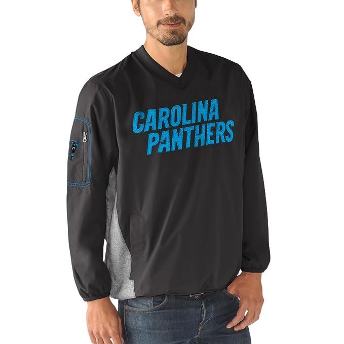 9e0c59c7 Carolina Panthers NFL Men's G-III Sports by Carl Banks Gridiron V-Neck  Pullover Jacket