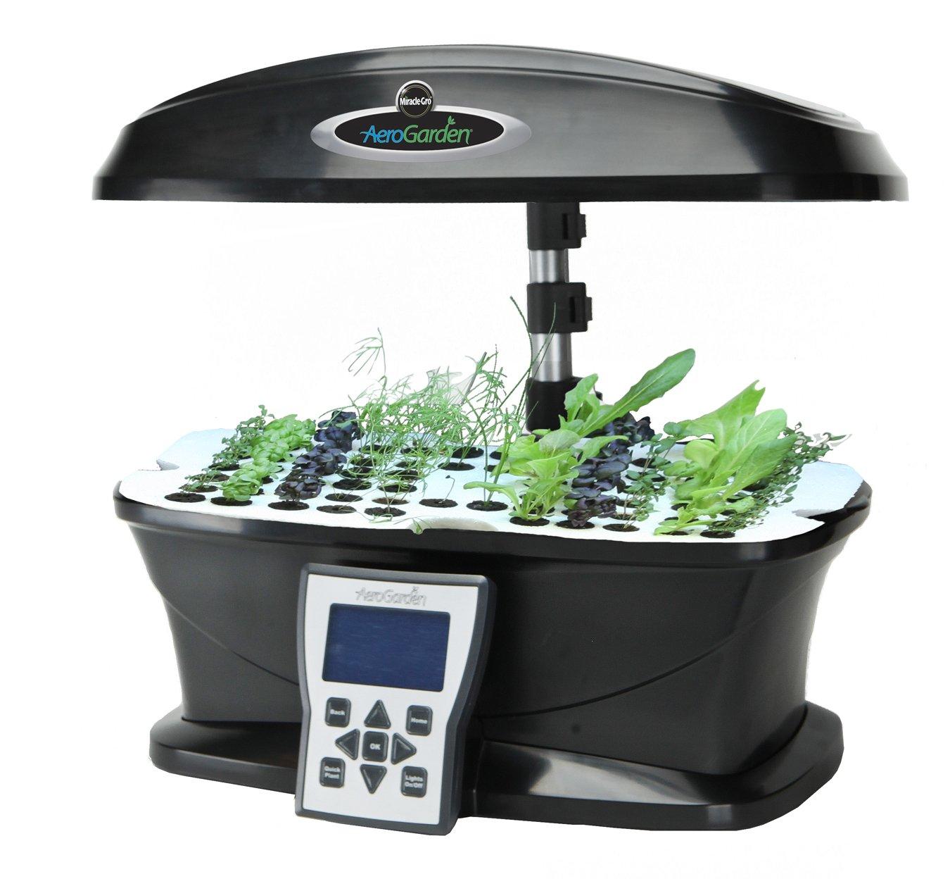 Amazoncom AeroGarden ULTRA Indoor Garden with Gourmet Herb Seed