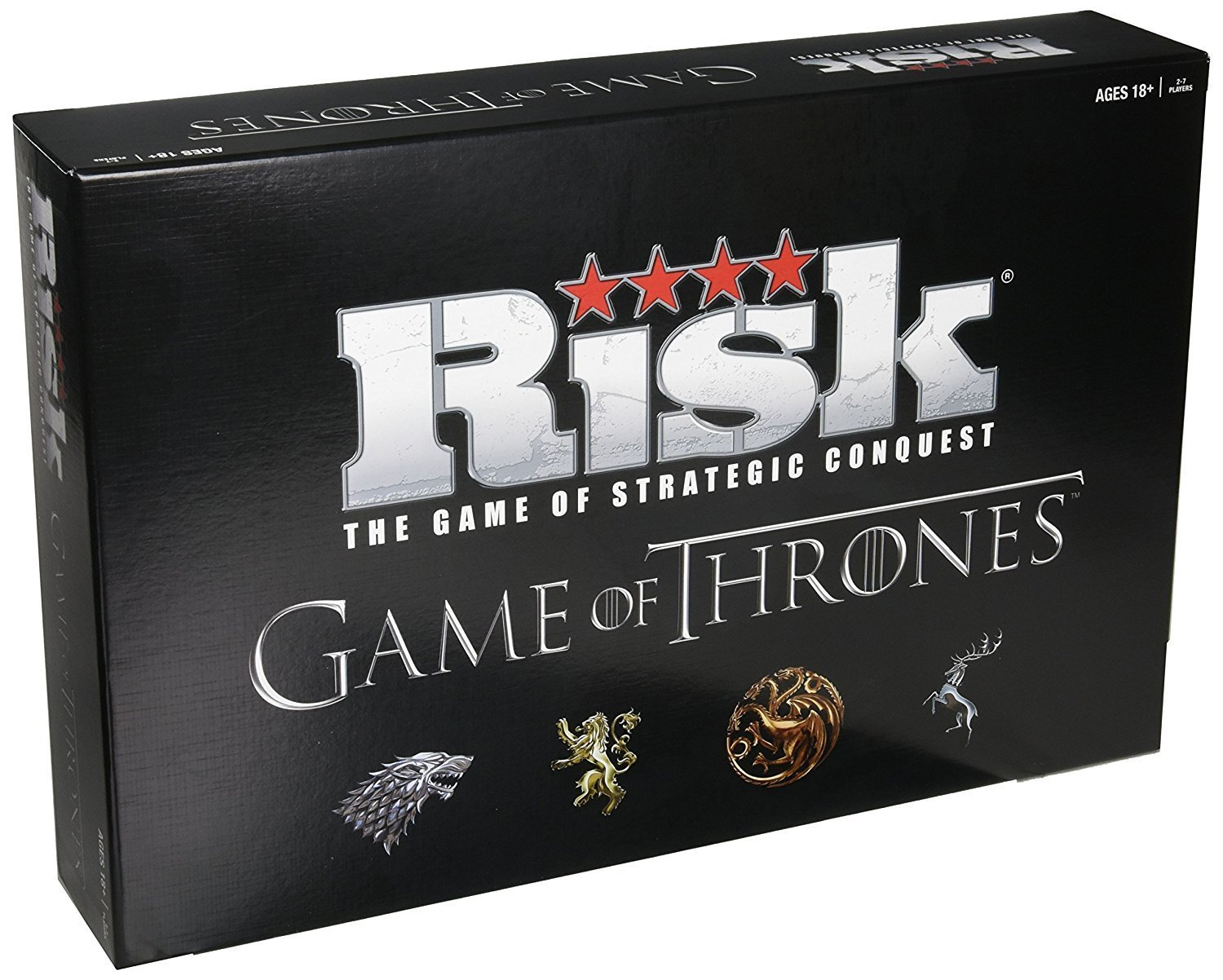 Risk Game of Thrones Strategy Board Game | The perfect gift for Game of Thrones Fans (Premium pack)