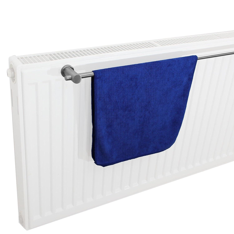 Handtuchhalter aus Edelstahl mit Magnethalterung in 7 L/ängen 40 40cm 100cm