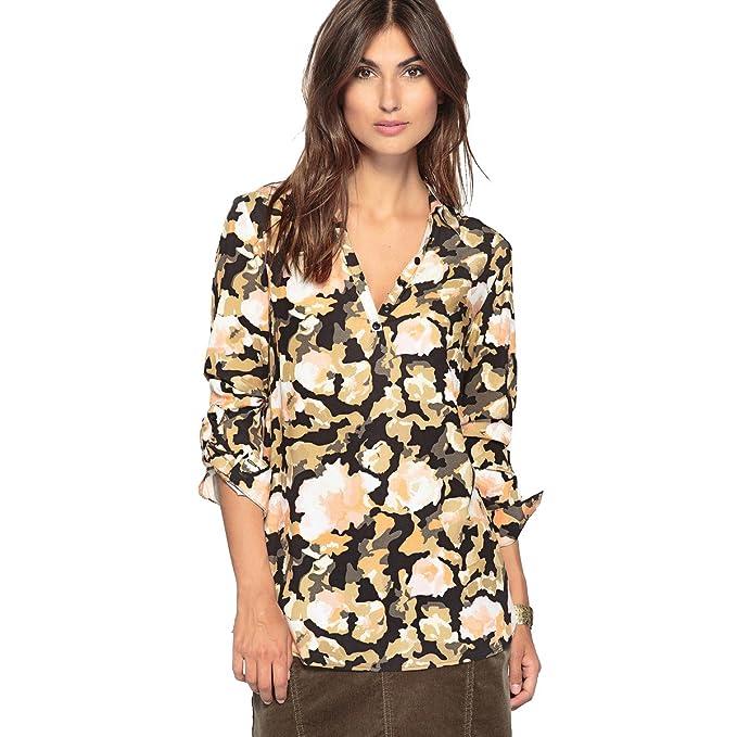 quality design 1edb2 722b3 Anne Weyburn Donna Camicetta Fantasia, Viscosa: Amazon.it ...