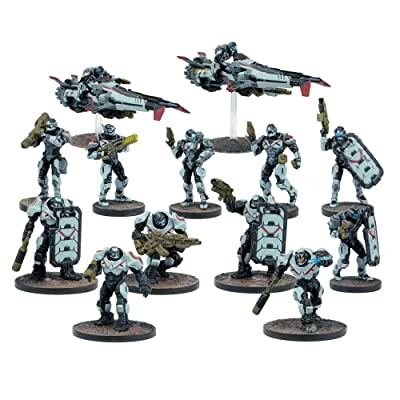 Mantic Games MGDZE102 Deadzone Enforcer Faction Booster Playset: Toys & Games