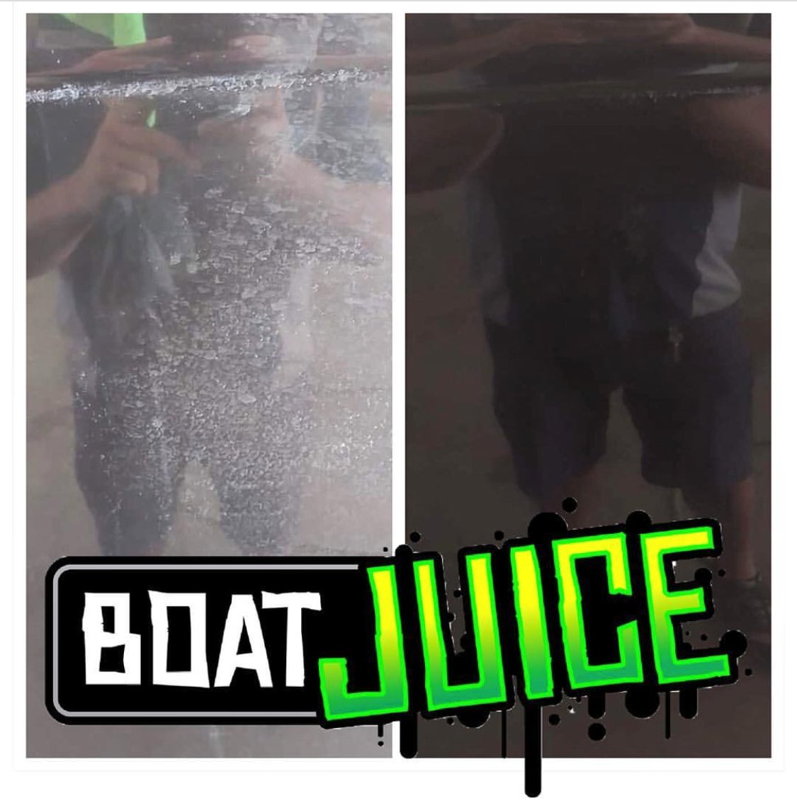 Boat Juice Exterior Boat Cleaner - Water Spot Remover - Polymer Wax Protectant - Gloss Enhancer - Pina Colada Scent - 18oz Sprayer Bottle by Boat Juice (Image #3)