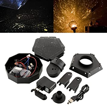 Romantic Planetarium Astro Star Laser Projector Cosmos Home Bedroom  Fantastic Night Light Lamp Gift