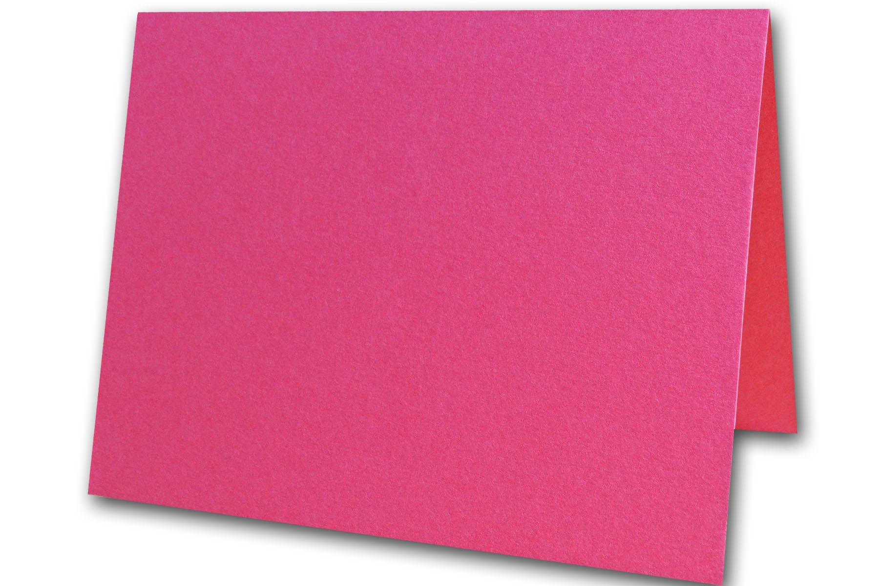 Blank Colorful Place Cards Tent Cards   Size 3.5'' x 5'' Flat 2.5'' x 3.5'' Folded (50, Magenta)