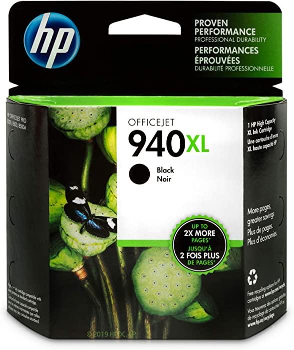 HP 940XL | Ink Cartridge | Black | C4906AN