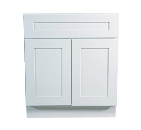 Exceptionnel Design House 561373 Brookings 27 Inch Base Cabinet, White Shaker