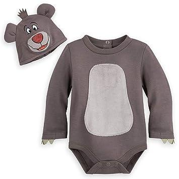 a53b8dfff Disney Store Jungle Book Genuine Baloo Boys Bear Bodysuit Costume ...
