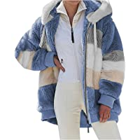 ABINGOO Mujer Abrigo Invierno Chaqueta Talla Grande Sudaderas con capucha Grueso Abrigo Cálido Outerwear con Bolsillo…