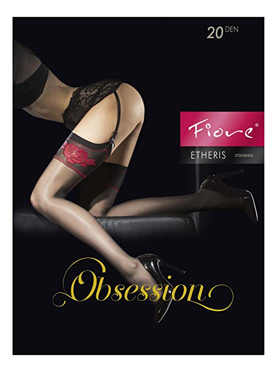 463f3f0f842 Fiore Luxury Super Fine 20 Denier Sheer Stockings - Available in Black or  White  Amazon.co.uk  Clothing