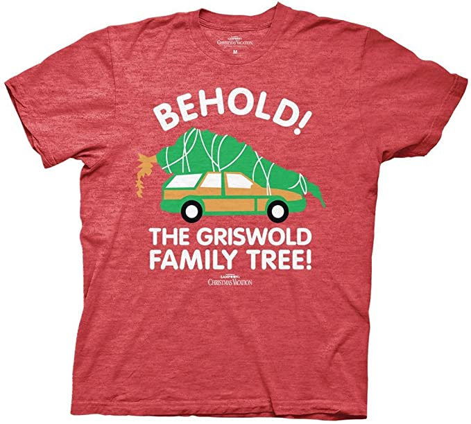 1e95342d0d2 Ripple Junction National lampoon Christmas Vacation Behold The Tree T-Shirt  (Small