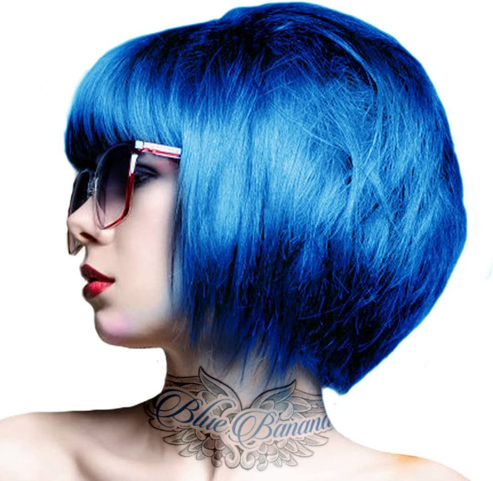 2 x Crazy Color Capri Blue 44
