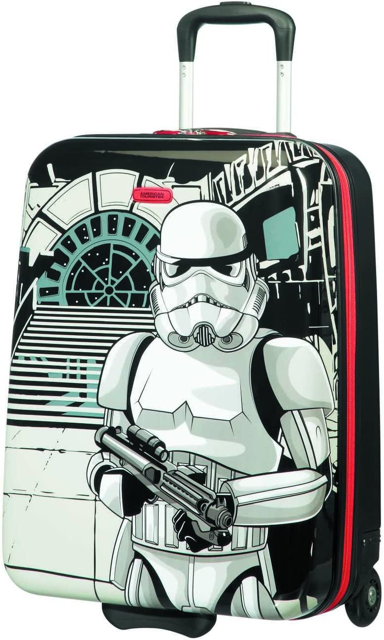 American Tourister New Wonder - Upright S Equipaje de Mano, 55 cm, 32.5 L, Multicolor (Star Wars Storm Trooper)
