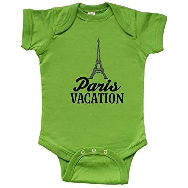 Amazon Com Inktastic Paris Vacation Travel Trip Infant Creeper