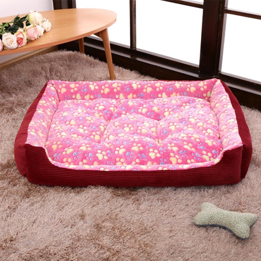 C X-Large C X-Large Weiwei Large Kennel Cat Litter pet Supplies Autumn and Winter Warm pet nest Dog mat
