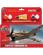 Airfix Curtiss Tomahawk IIB Starter Gift Set (1:72 Scale)