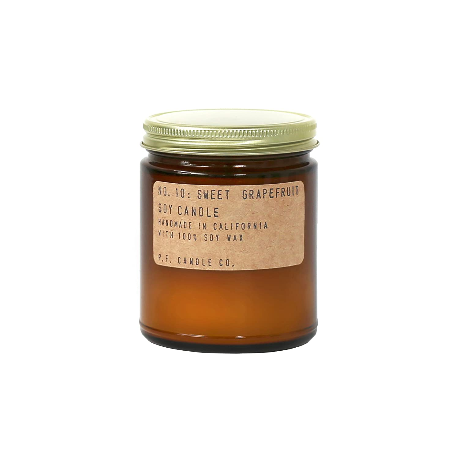 P.F. Candle Co.. - No. 10: Sweet Grapefruit Soy Candle (3.5 oz) 0855111006201