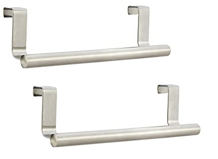 12 Inch Over Door Towel Rack Pro Chef Kitchen Tools Over Cabinet Towel Bar Keep You Fit All The Time