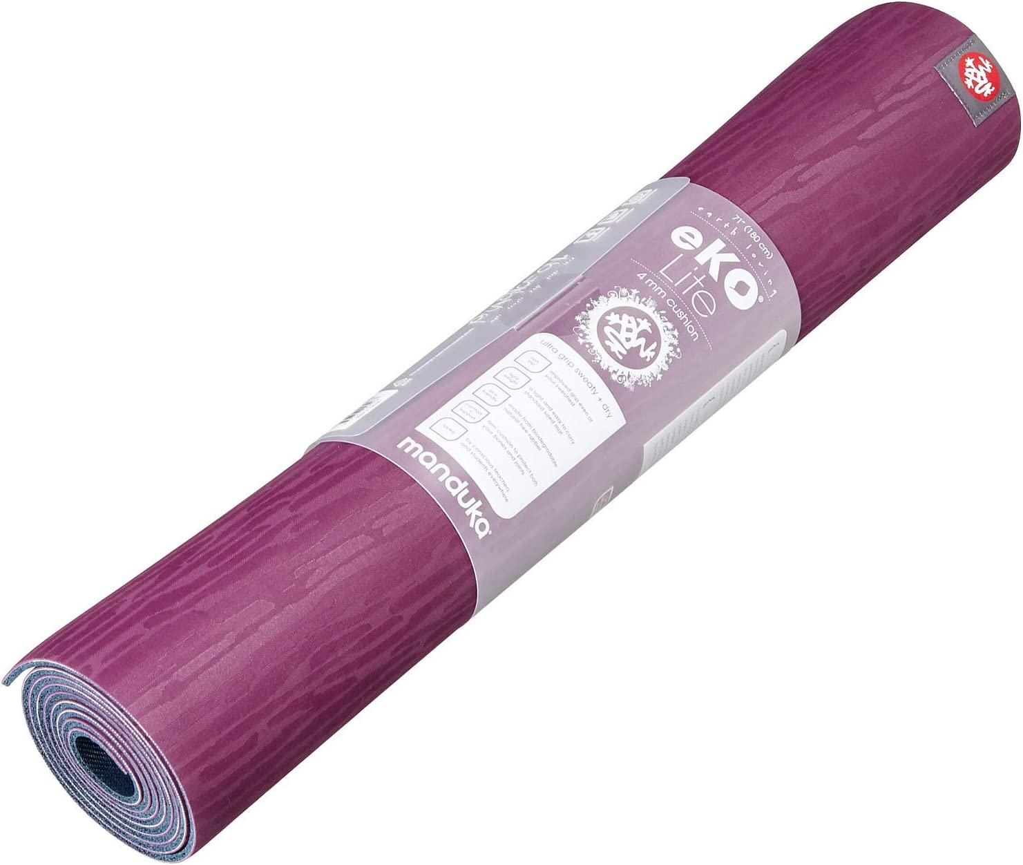 Manduka eQua Machine Washable Hot Yoga Mat