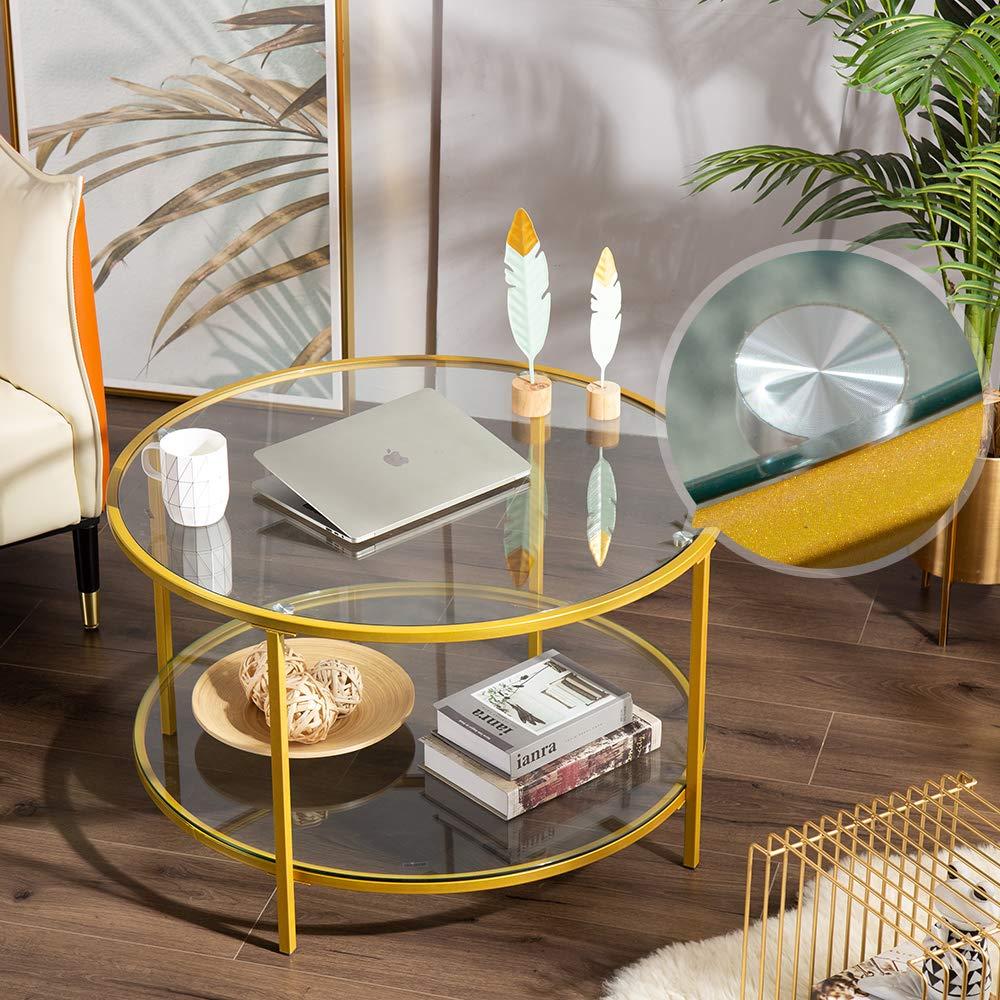 alpha-ene.co.jp Furniture Coffee Tables Bonnlo 31.5 Round Coffee ...
