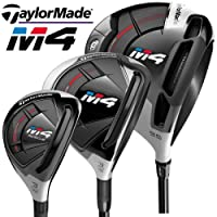 TaylorMade M4 MULTIBUY 9.5 DEGREE DRIVER, 3 WOOD & #3 RESCUE/REGULAR FLEX