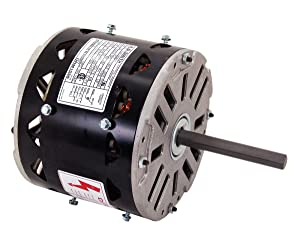 A.O. Smith ORM1076 3/4 HP, 1075 RPM, 4 Speed, 48Y Frame, Reversible Rotation, 1/2-Inch by 6-Inch Shaft OEM Direct Replacement