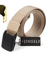 JINSELF 【グレードアップ版1】 S級永久ベルト 純正ナイロン100% 正規YKKバックル メンズ 1