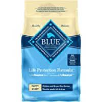 Blue Buffalo Life Protection Formula Puppy Dog Food – Natural Dry Dog Food for Puppies – Chicken and Brown Rice – 2.7kg…