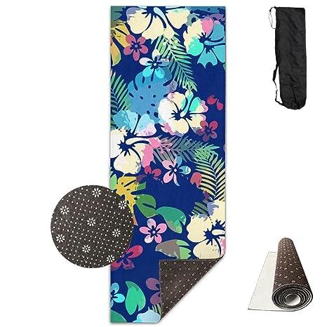 Amazon.com: Unisex Hawaiian Tropical Floral Seamless Custom ...