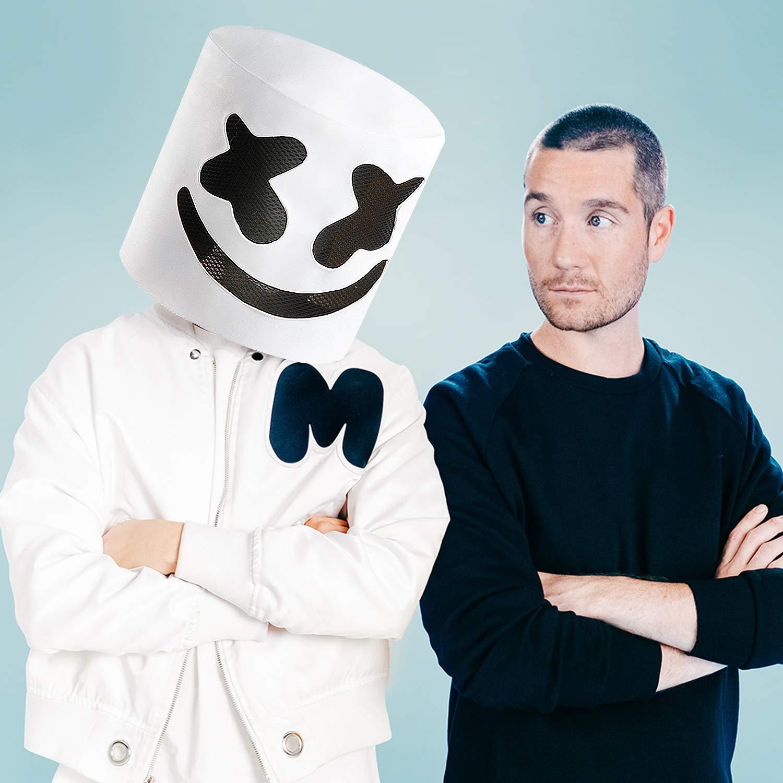 Casque Supmaker DJ Marshmello masque Marshmello pour adulte et enfant