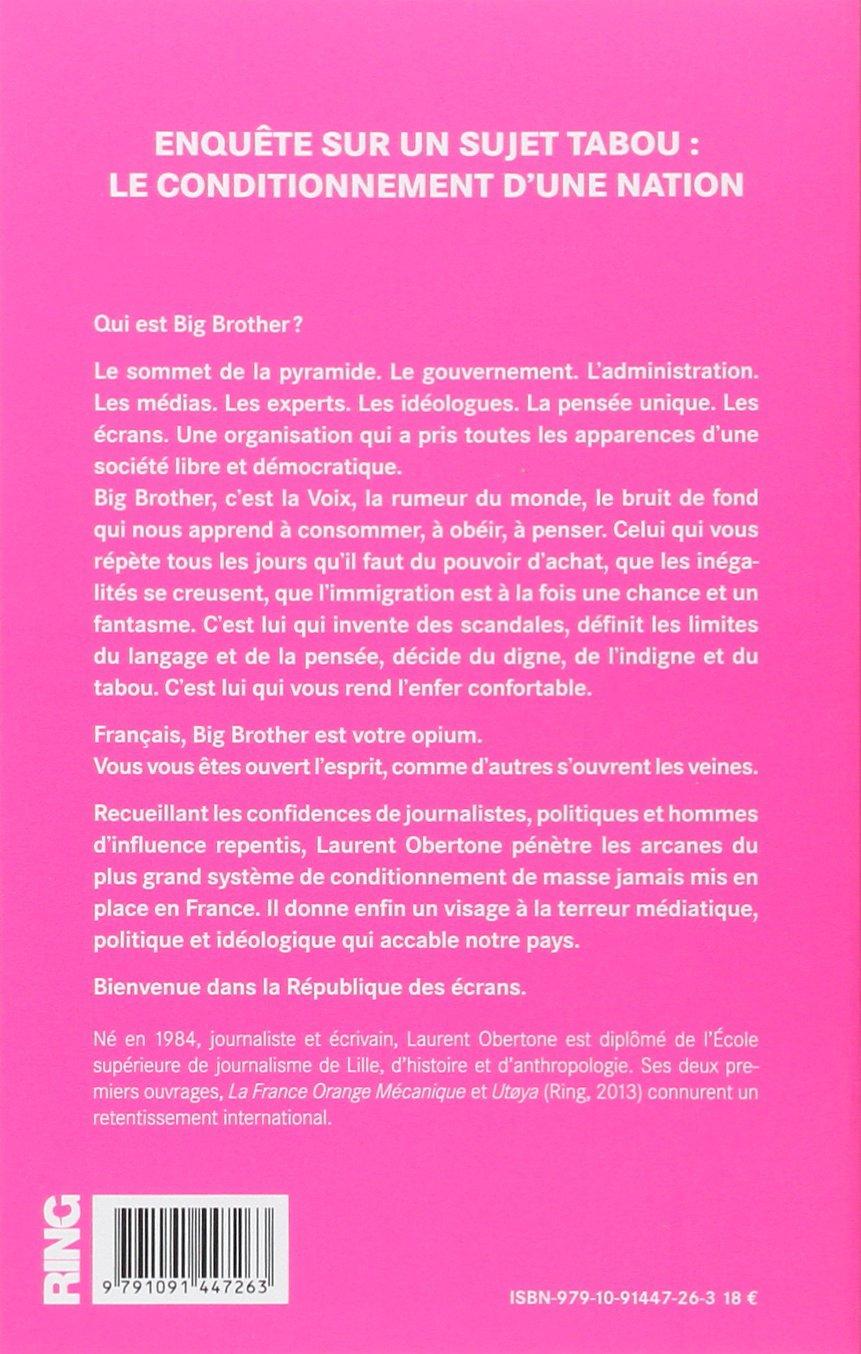 La France Big Brother [ en format best-seller ] (French Edition)