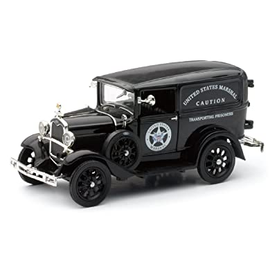 "1931 Ford Model A Truck "" US Marshall "" by Newray 1:32 Scale"
