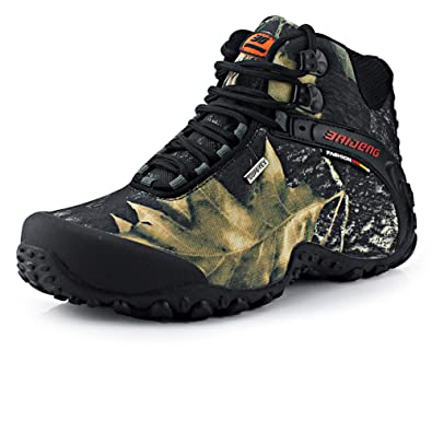 Men Hiking Boots Trekking Shoes Outdoor Sport Non Slip Breathable Walking Climbing Sneakers
