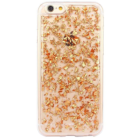 gold glitter iphone 6s case