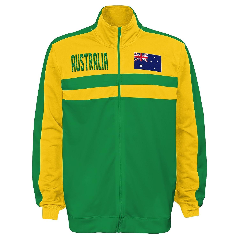 International Soccer Australia Mens Outerstuff Track Jacket Team color Medium