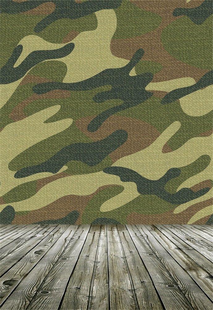 [定休日以外毎日出荷中] leowefowa 5 x M 7ftビニールバックドロップシン写真背景グリーンMilitary Camouflage壁木製ストライププラットフォームArtistic景色Sweetベビー子供縦Backdrop H 1.5 B073F8TCY5 ( W ) x2.2 ( H ) M Photo Studio Prop B073F8TCY5, 塩川町:4bd7c548 --- vanhavertotgracht.nl