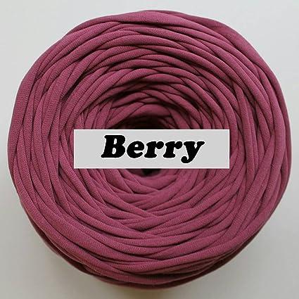 Amazon T Shirt Yarn 40 Meters Cotton Crochet For Making Stunning T Shirt Yarn Pouf