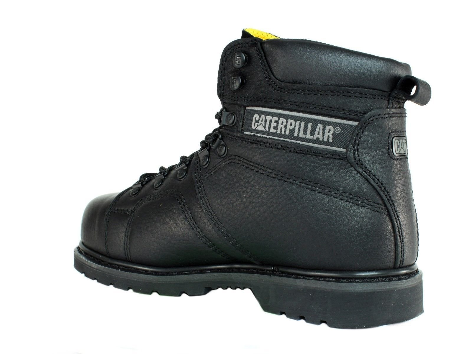 Caterpillar SureGrip Mens Silverton SG Black Slip Resistant Work Boots 12M by Caterpillar (Image #5)