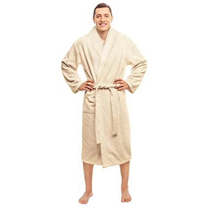 c96e801bed Image Unavailable. Image not available for. Color  Blue Nile Mills Hotel    Spa Ivory Robe