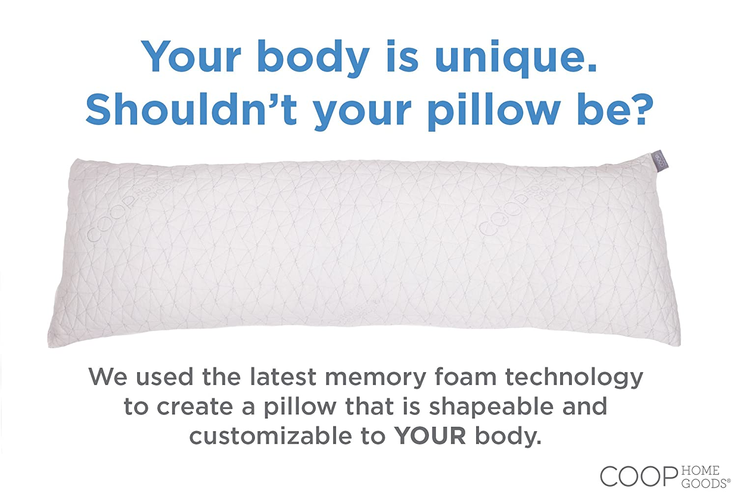 Shredded memory foam pillow with vicose royan cover