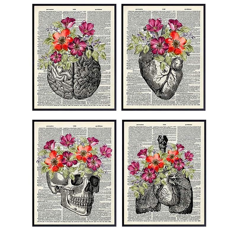 anatomical poster Anatomy art FEMUR BONES CARTILAGE Radiologists medical student gift decoration office doctor