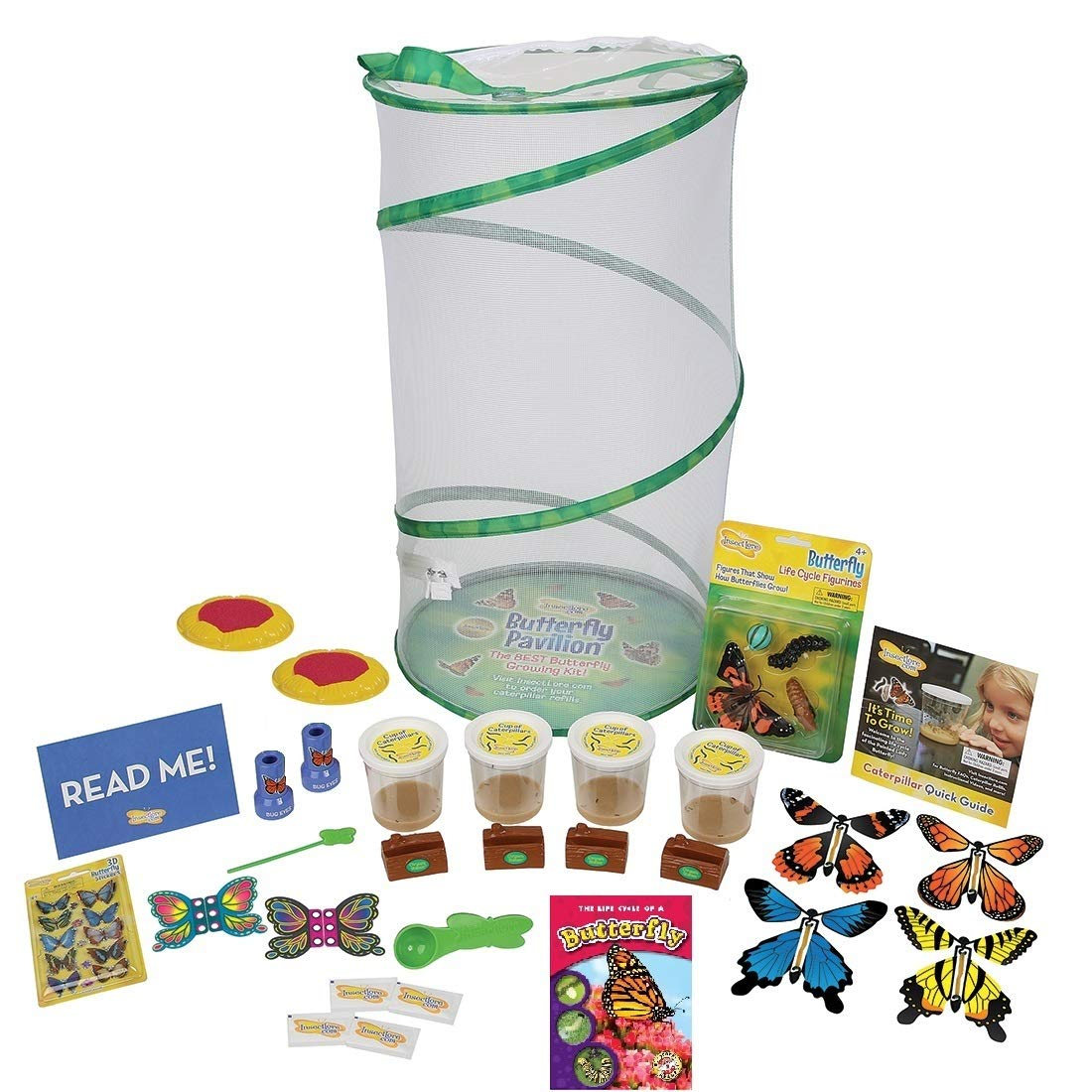 Insect Lore Platinum Edition Butterfly Pavilion Kit by Insect Lore